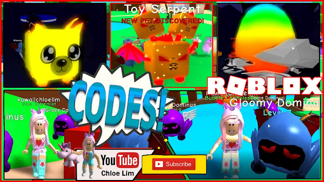 Roblox Bubble Gum Simulator Gameplay! 2 NEW CODES! Happy Birthday to Savannah and others having their birthday today!