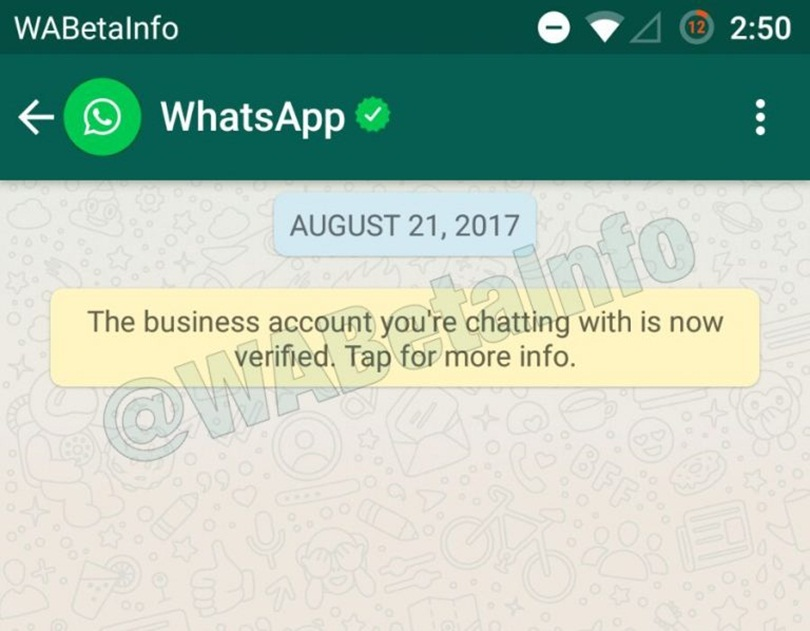 Whatsapp'dan Doğrulama Rozeti !