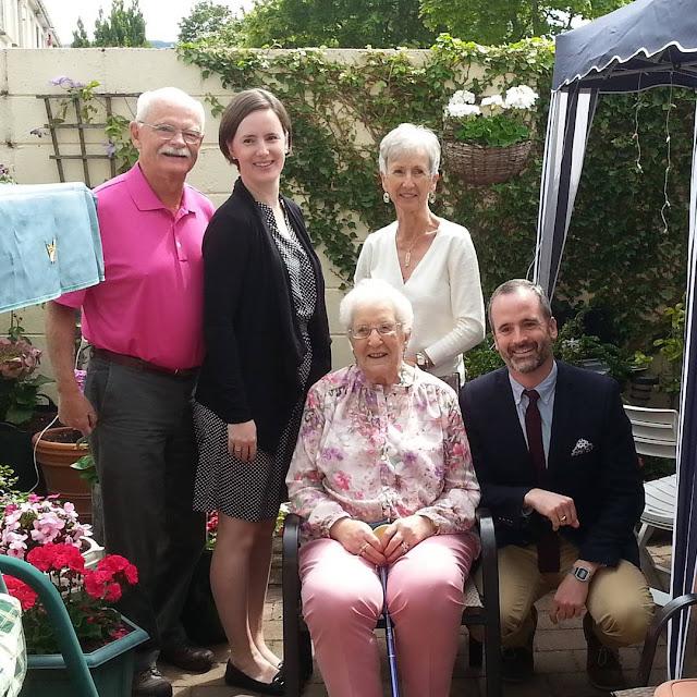 Nonna celebrates 95