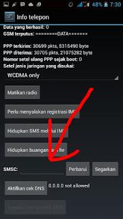 cara mudah dan simpel mengatasi hp android tidak bisa kirim sms