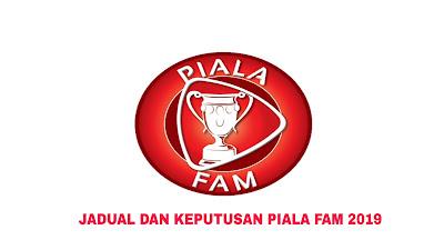 Jadual dan Keputusan Piala FAM Malaysia 2019