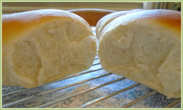 Soft enriched bread rolls