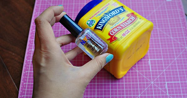 The Cheese Thief Does Adding Cornstarch To Nail Polish Make It Matte