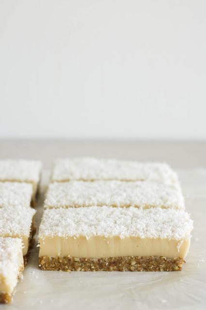No Bake Vegan Vanilla Custard Slice