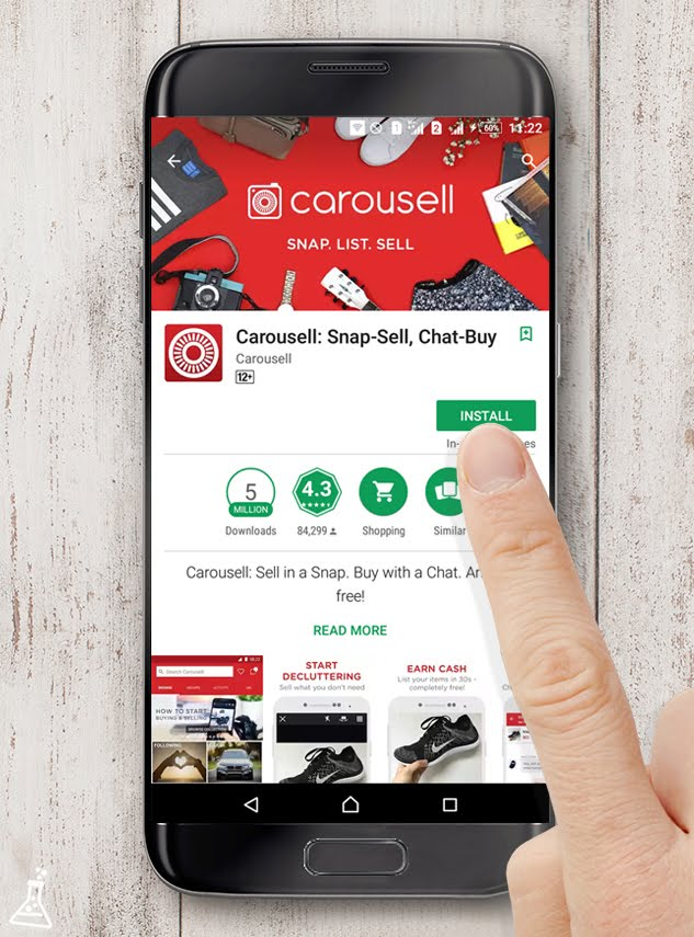 Review dan pengalaman memakai aplikasi carousell