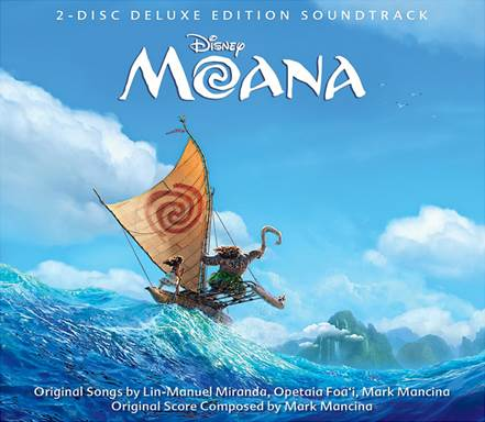 Disney's MOANA Soundtrack