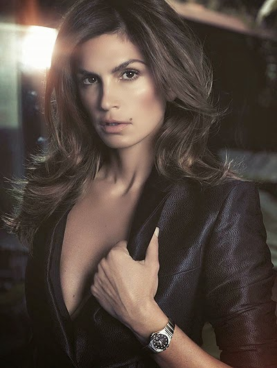 Cindy Crawford for Omega