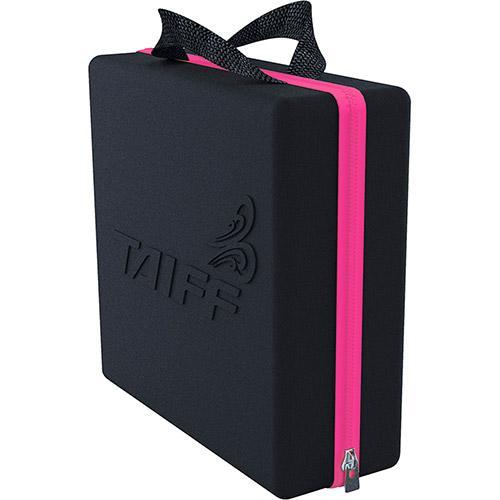 Secador Taiff Titanium Colors rosa com maleta exclusiva