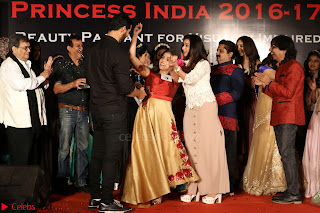 John Aham, Bhagyashree, Subhash Ghai and Amyra Dastur Attends Princess India 2016 17 053.JPG