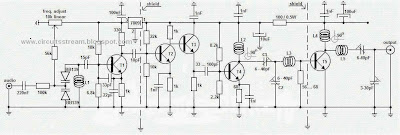 Build a 1W Long Range FM Transmitter Circuit Diagram