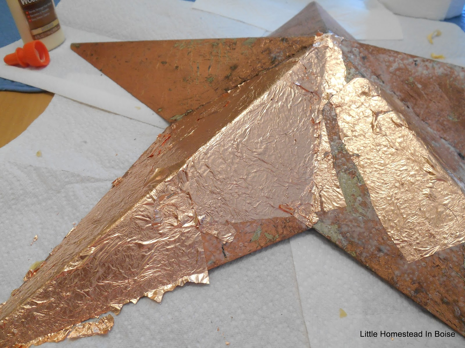 Little Homestead In Boise How To Do Copper Leaf Crafts