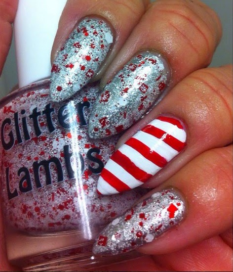 Custom handmade indie nail polish for your nails for the Christmas holiday season!