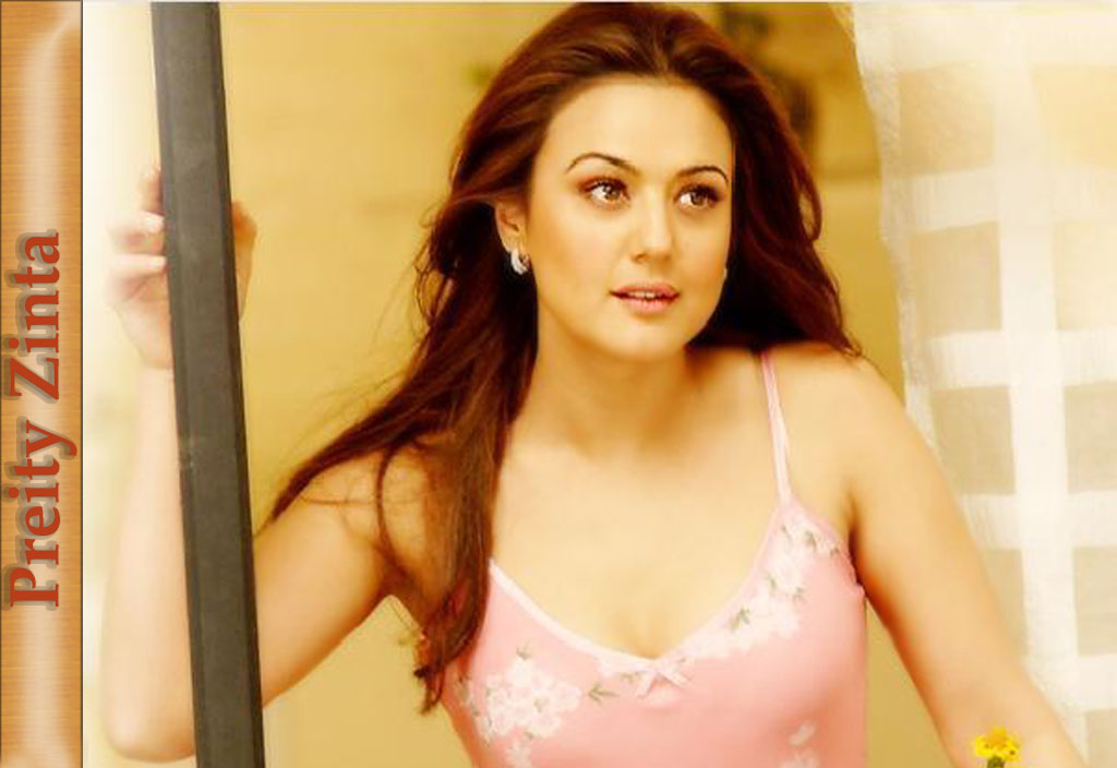 Hot And Beautiful Preity Zinta Wallpaper  Huge Collection -6448
