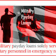 Military Payday Loans ~ Ccaeb Personal Loans