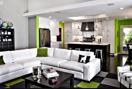 Cara Menata Ruang Tamu Yang Menyatu Dengan Ruang Keluarga Tanpa Sekat!