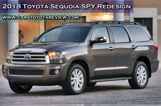 2018 Toyota Sequoia SPY Redesign