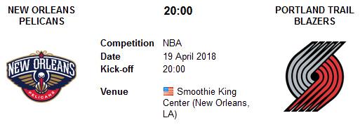 New Orleans Pelicans vs Portland Trail Blazers en VIVO