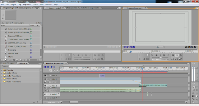 Screenshot Adobe Premiere Pro