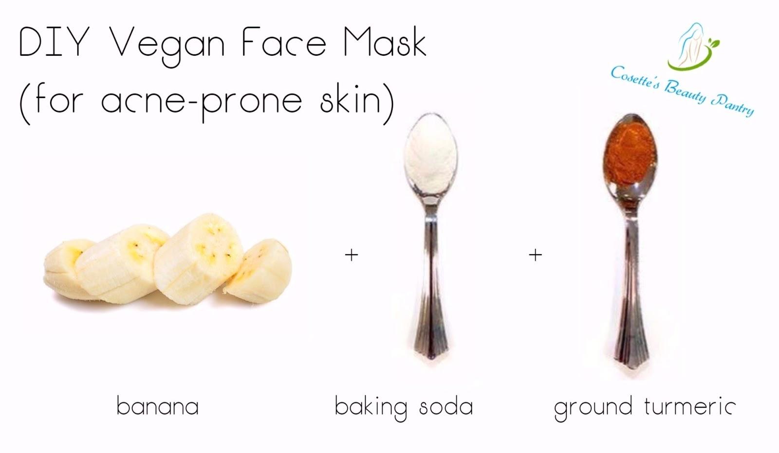 Cosette S Beauty Pantry Diy Vegan Face Mask For Acne Prone Skin