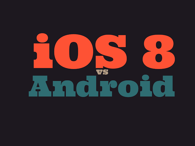 Android Lollipop 5.0 vs. iOS 8