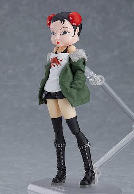 """Futaba Sakura vestida casual en su nuevo figma de """"Persona 5"""" - Max Factory"""