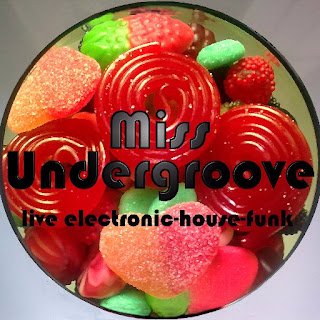 Miss Undergroove live electronic house funk