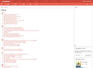 cara paling mudah membuat daftar isi blog - blog