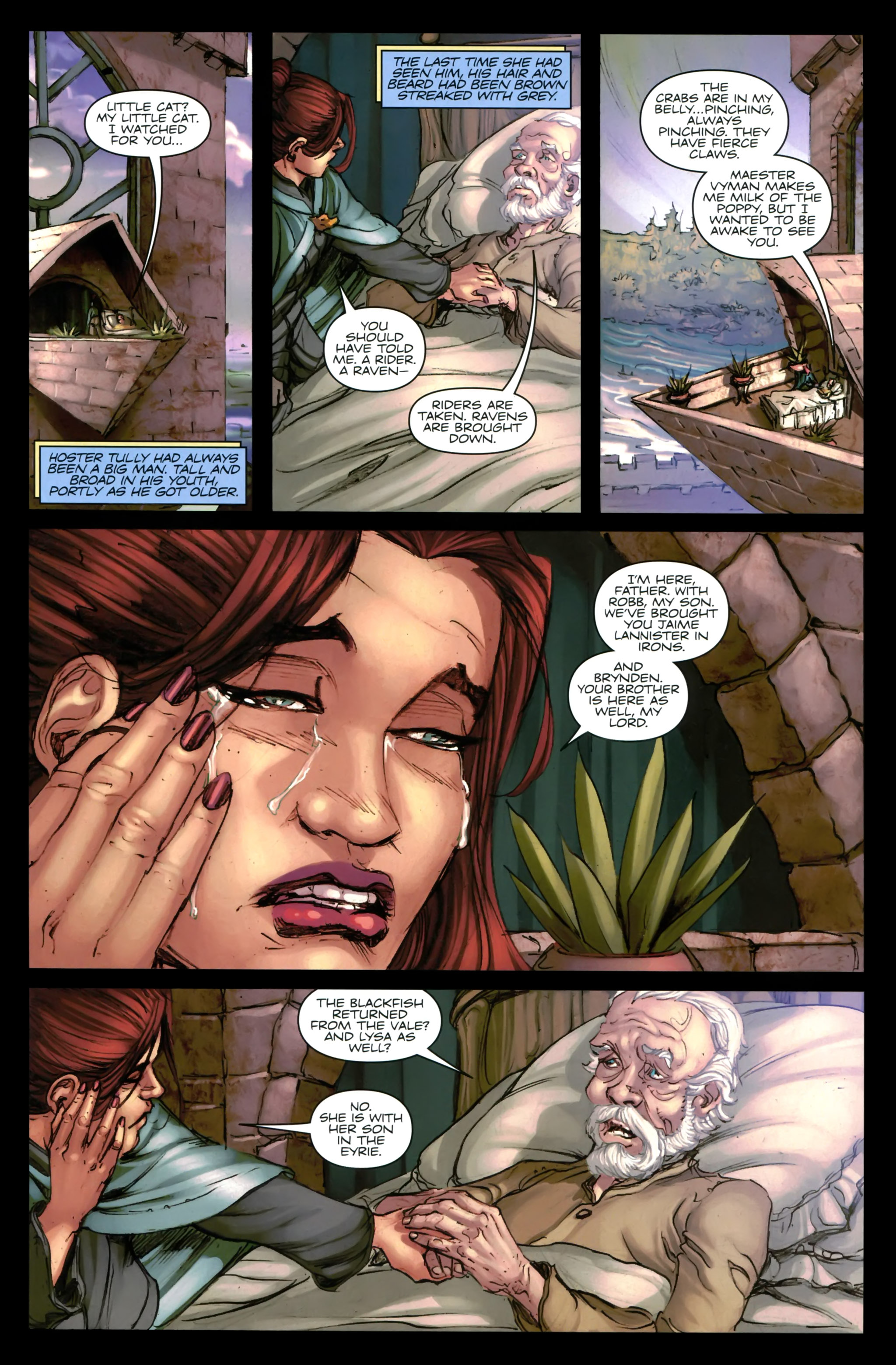 Read online A Game Of Thrones comic -  Issue #24 - 15