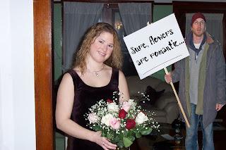 Sure, flowers are romantic...