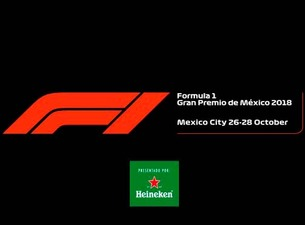 Cuadro en color Negro con Logo de Formula 1 y Heineken