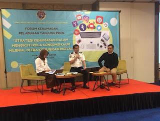 Forum Kehumasan Pelabuhan Tanjung Priok Berupaya Membangun Kemampuan Humas  Dipusaran  Era Digital dan Kaum Milenial
