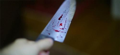lesão a faca