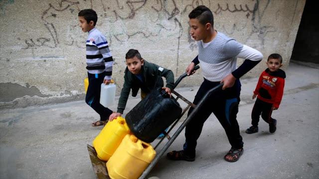 """""""El 97% del agua potable de Gaza tiene calidad de alcantarillado"""""""