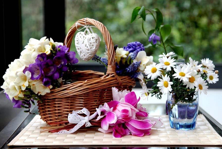 basket-of-flowers-hd-wallpaper