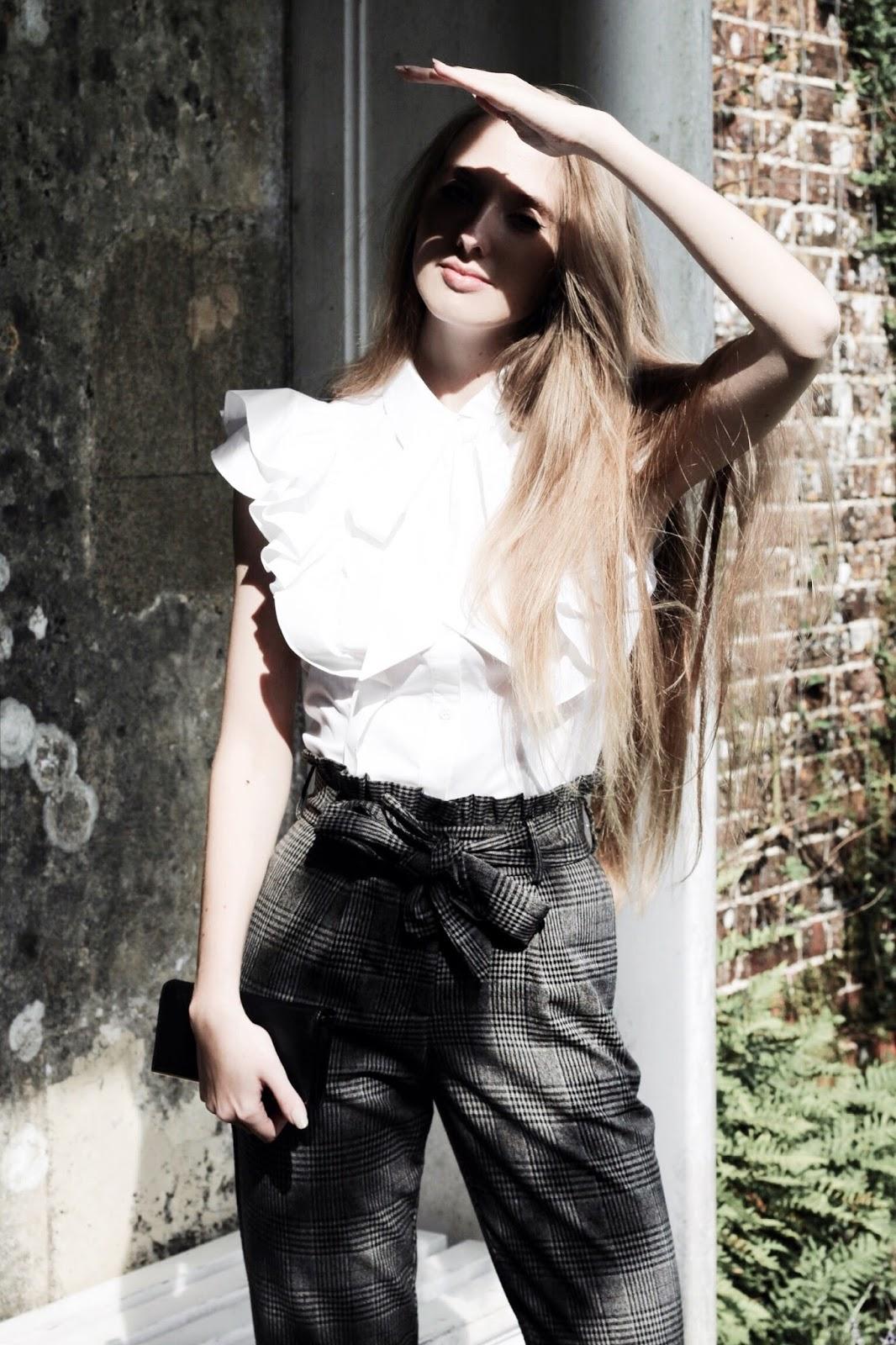 Styling Heritage Check Trend UK Fashion Blog
