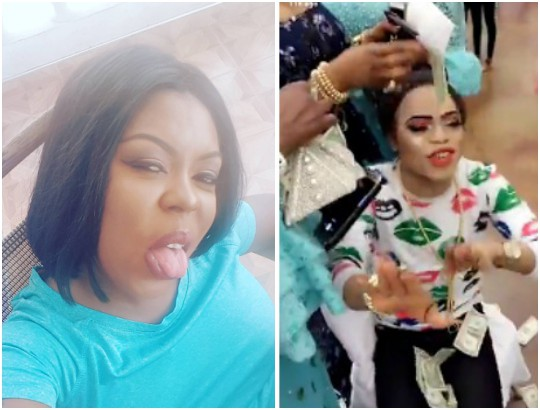 Bobrisky Blasts The Heck Out Of The Ghanaian Actress That Dissed Him