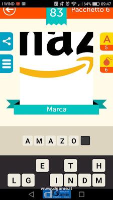 Iconica Italia Pop Logo Quiz soluzione pacchetto 6 livelli 83-100