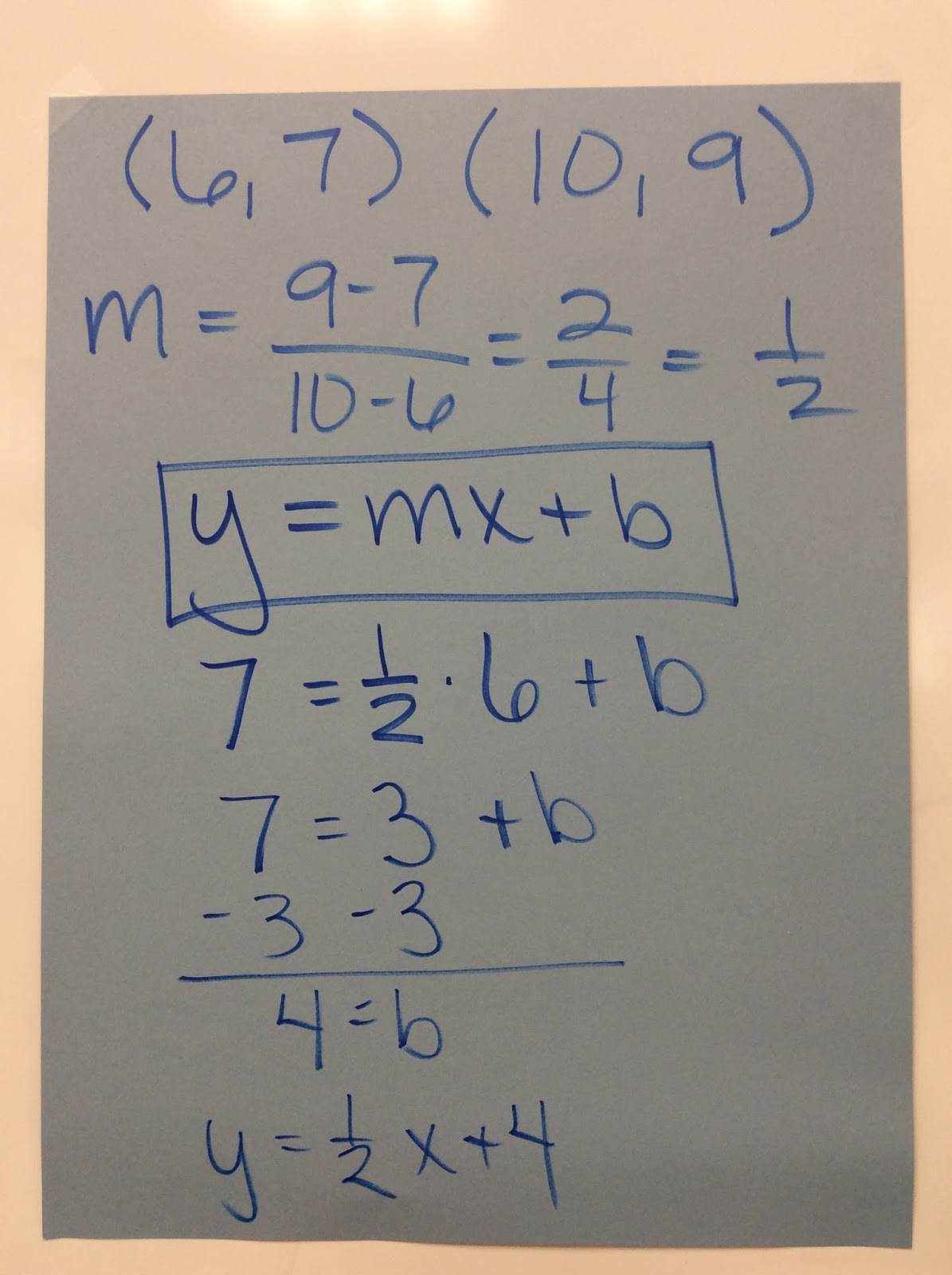 Simplifying Radicals Writing Equations Given Two Ordered
