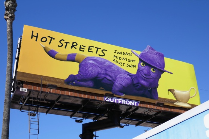 Hot Streets season 2 billboard