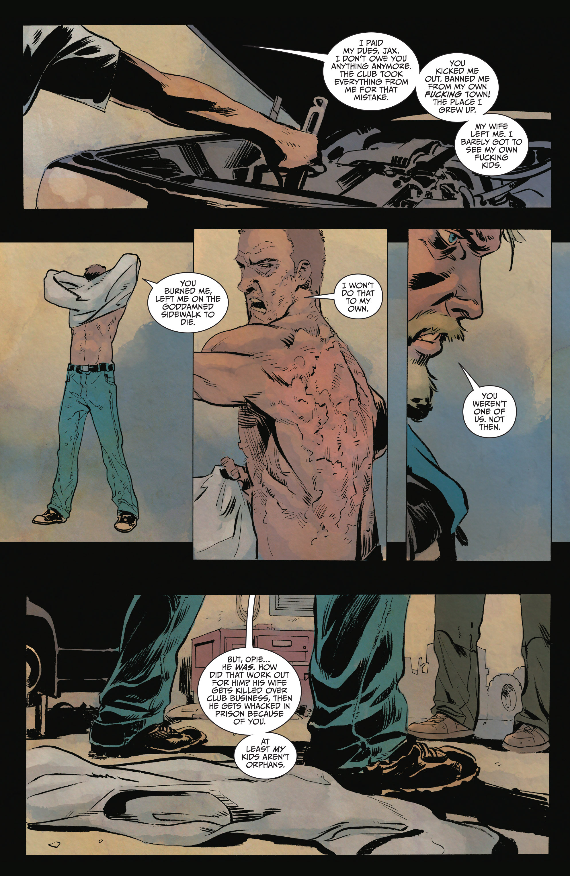 Read online Sons of Anarchy comic -  Issue #15 - 14