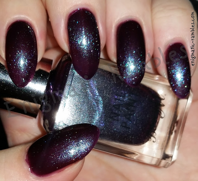 Enigmatic Rambles Swatch Barry M Purple Hex Superdrug Limited