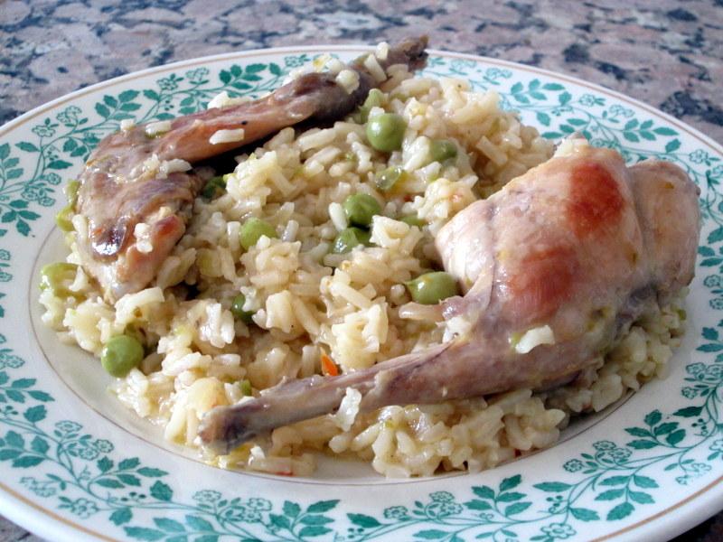 Cocinar no es dif cil pru balo arroz con conejo for Cocinar un conejo