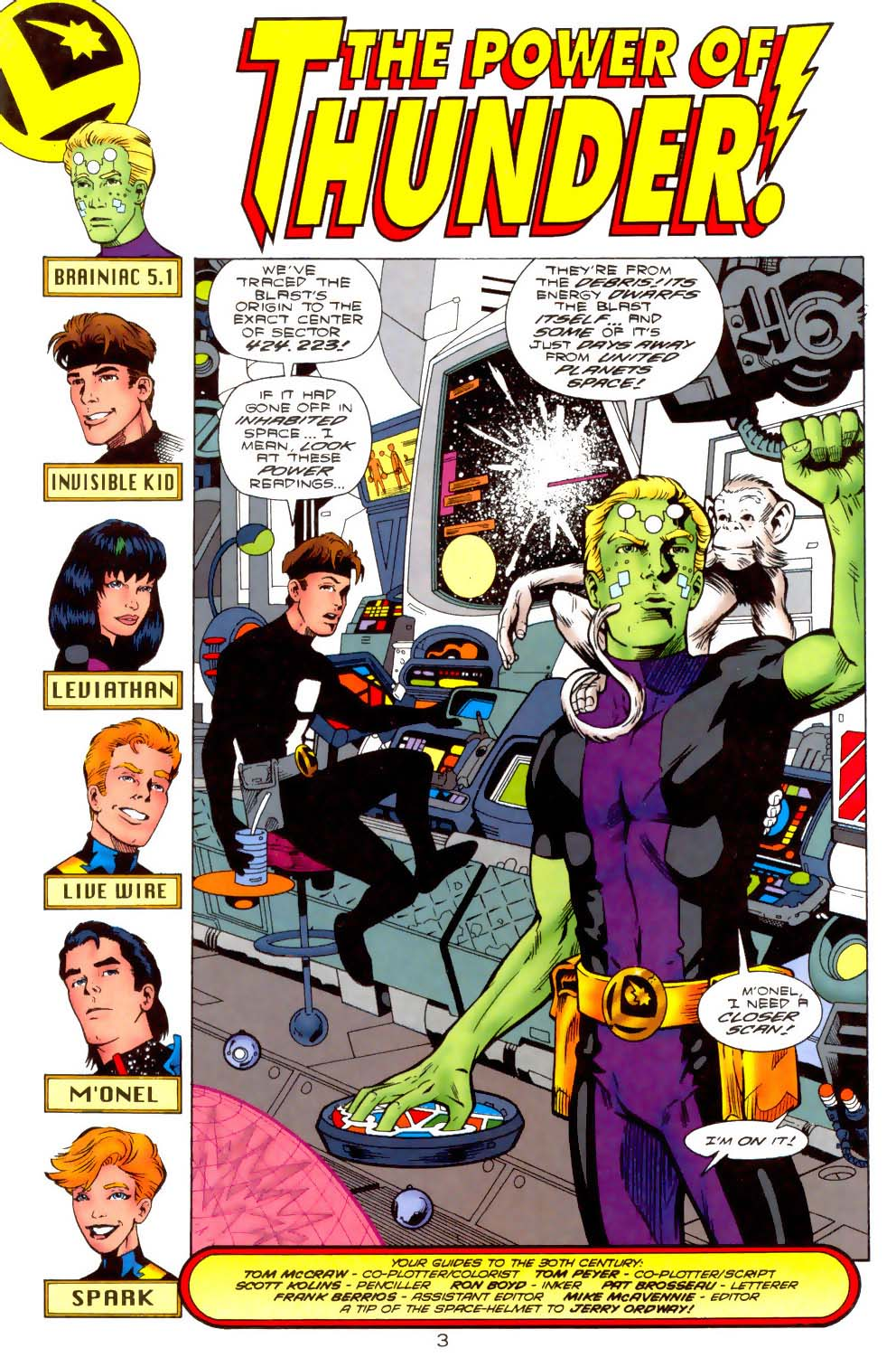 Legion of Super-Heroes (1989) 110 Page 3