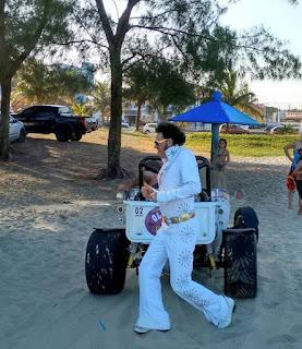 Elvis Presley (Cover) fará show no V Old Tour On The Beach