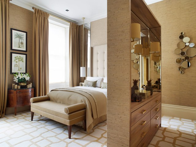 Dormitorio suite con vestidor