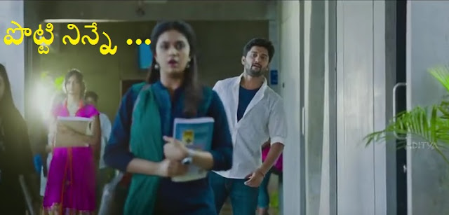 nenu local potti dialogue nani