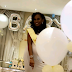 'It's a boy' - Photos from the gender reveal party of Gov. Ajimobi's daughter, Jibola in Lagos