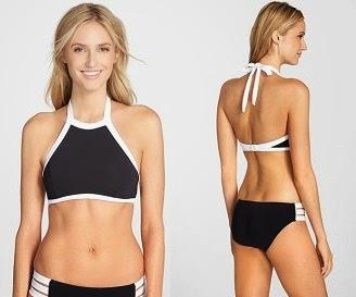 590132af634 seafolly high-neck bikini black and white
