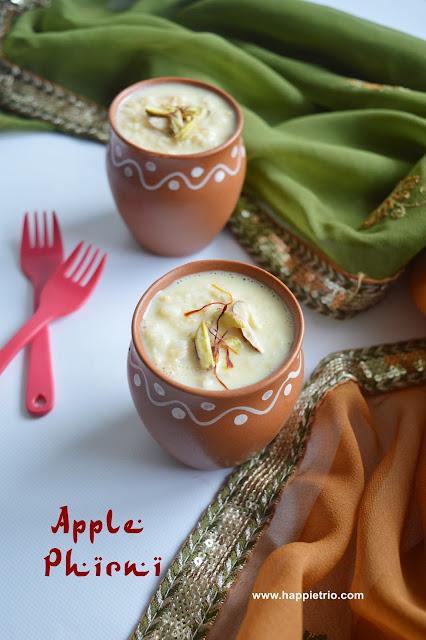 Apple Phirni Recipe