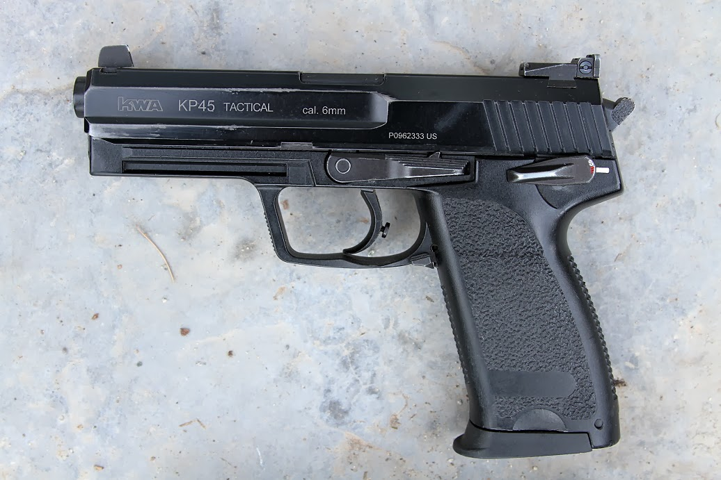 4 Years with the KWA USP Tactical
